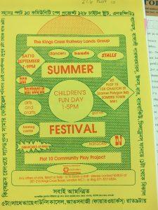 Festival newsletter.