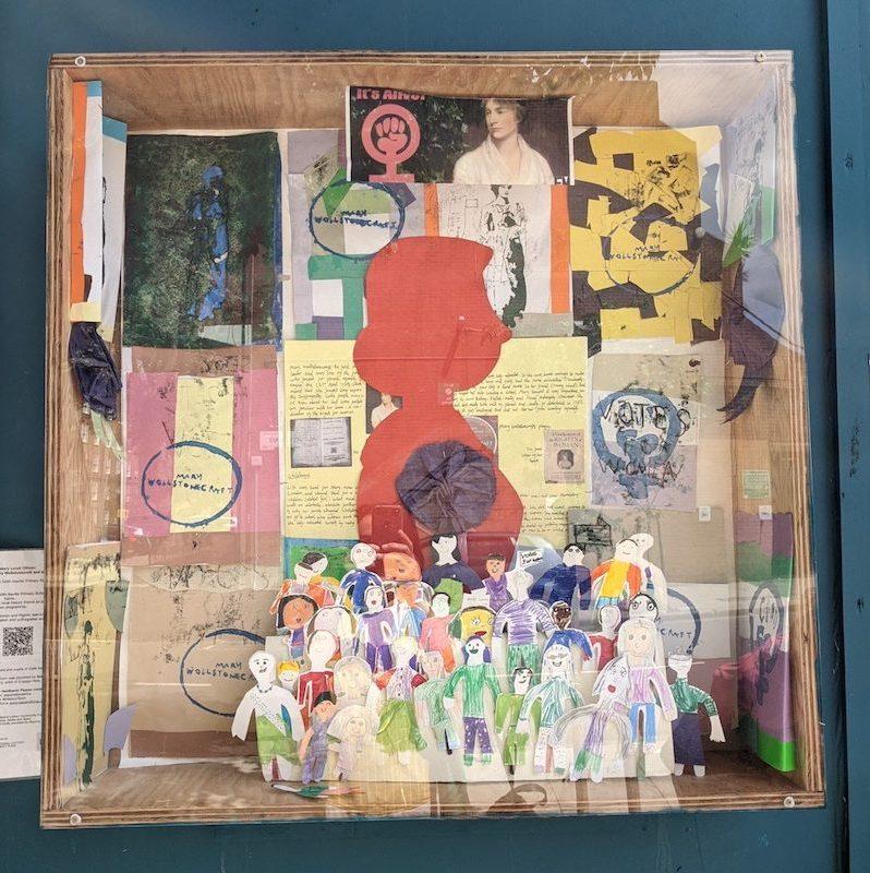 Display of drawings.