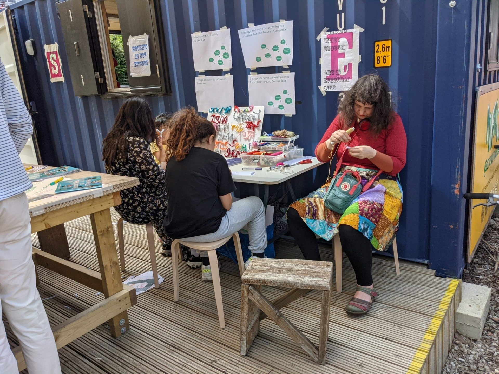 Craft activity in a group